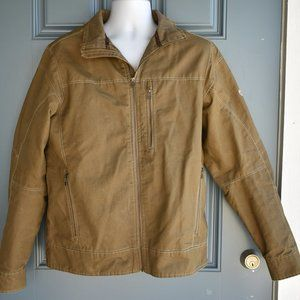 * Kuhl Men's Burr Utility Jacket in Khaki Sz L